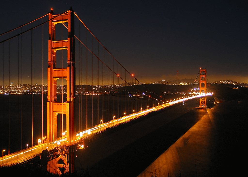 Bridge night modern
